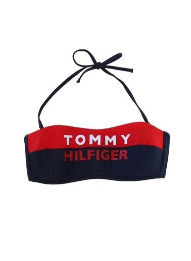 Tommy Hilfiger Bikini Üst Kırmızı